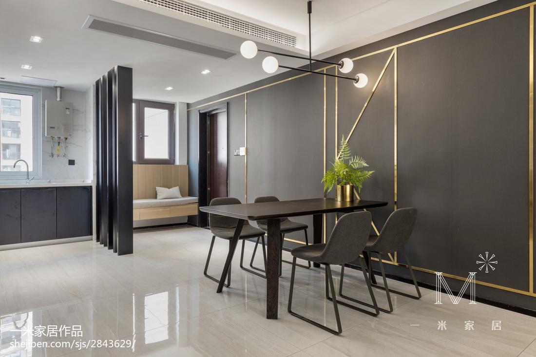 热门99平方三居餐厅现代设计效果图