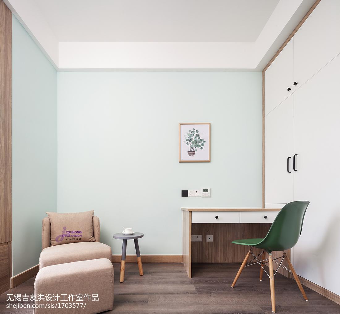 温馨109平北欧三居儿童房装潢图
