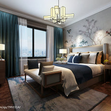 2018东南亚复式卧室装修设计效果图片大全