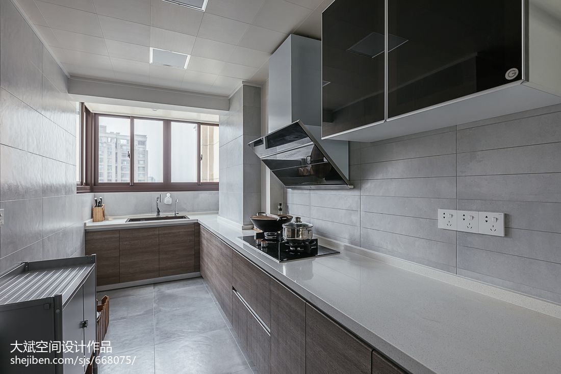 二居现代厨房设计效果图