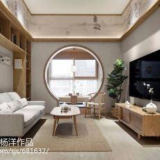 热门二居客厅日式装饰图片