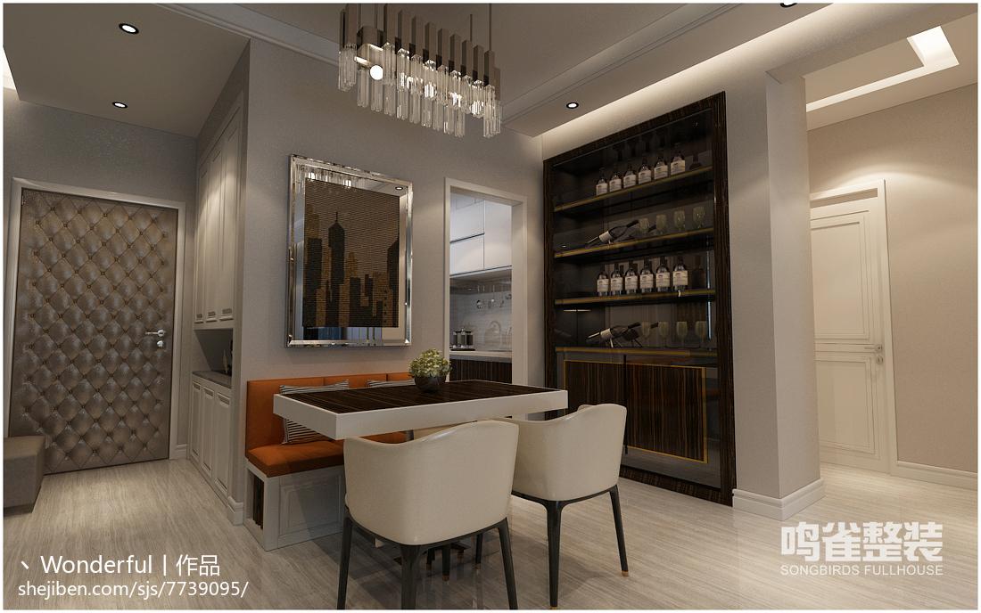 复古风格客厅水晶吊灯