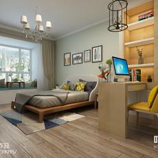 东南亚风格10平米小卧室装修效果图