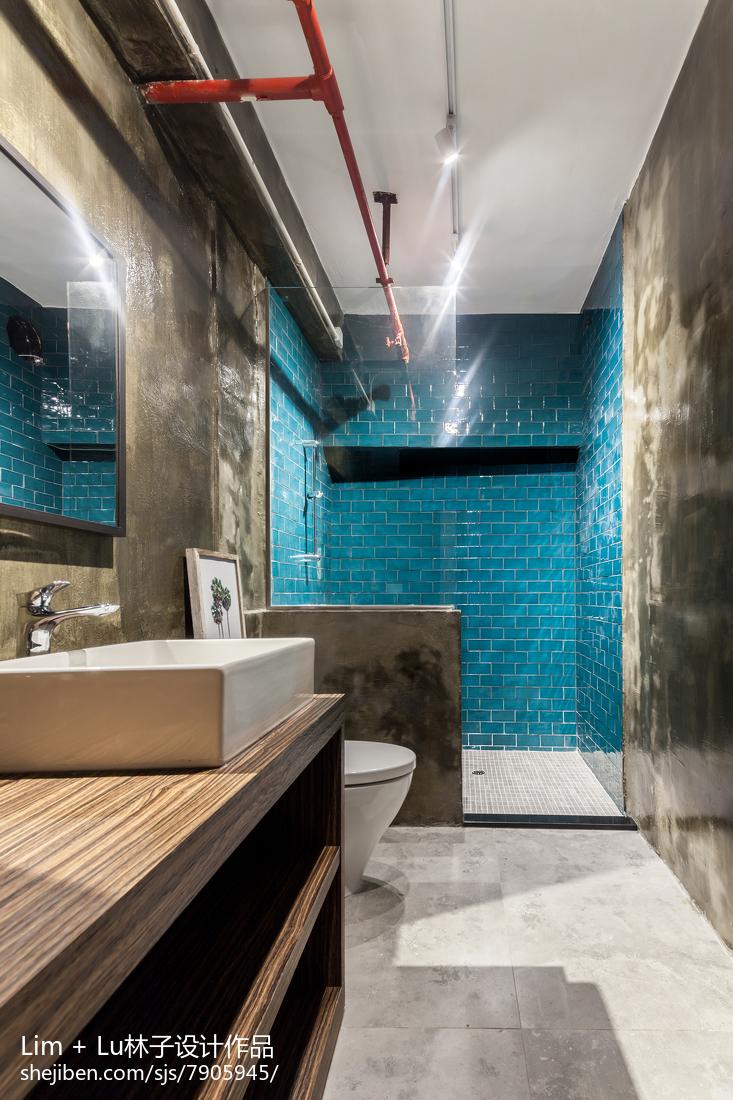 现代卫生间装修图片欣赏
