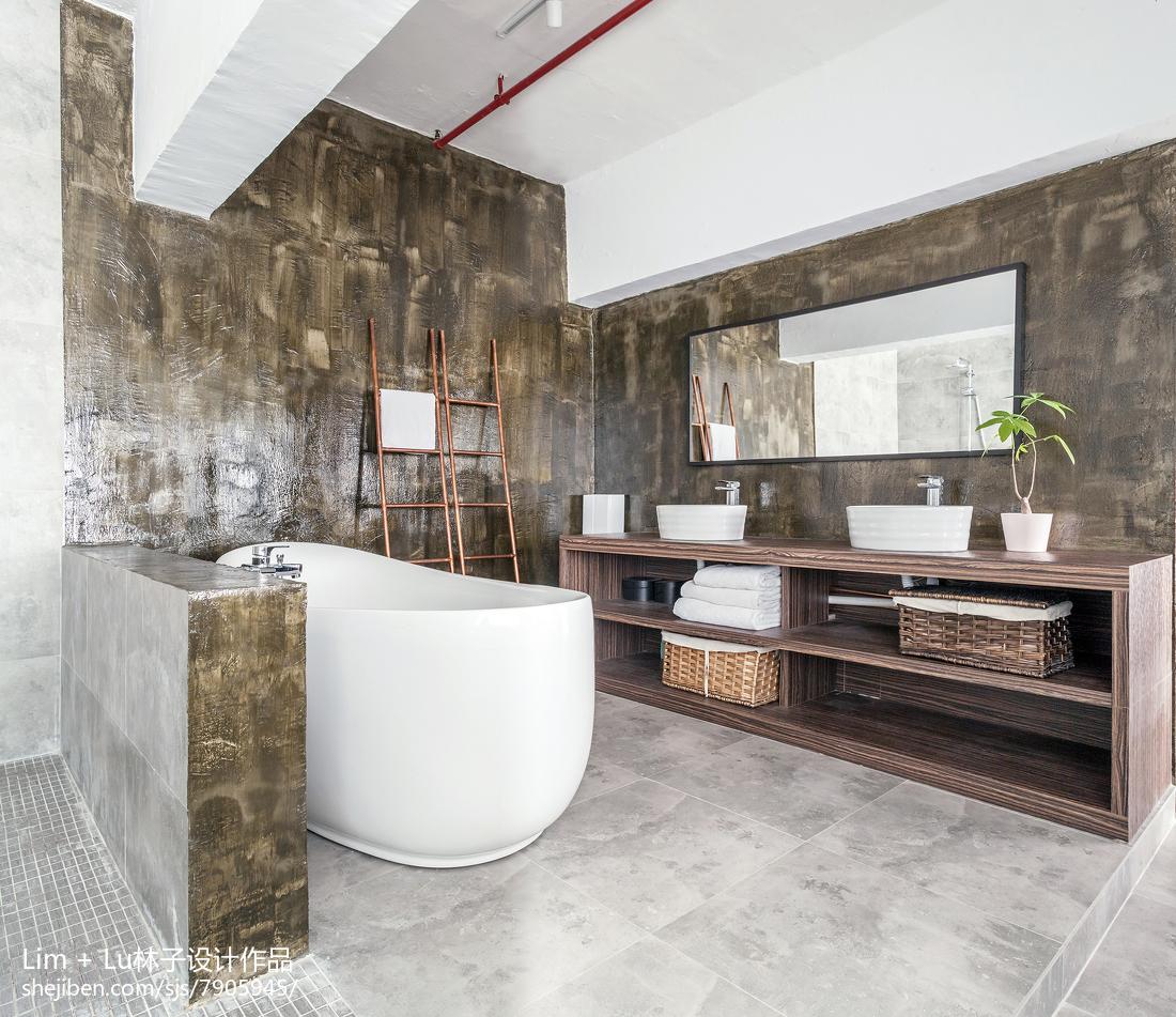 简约卫生间室内设计效果图片