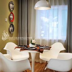 面积87平小户型餐厅现代装修设计效果图片大全
