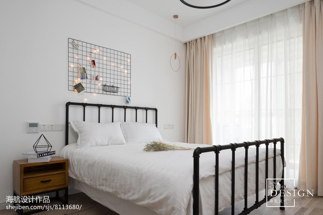 热门大小120平现代四居卧室欣赏图片大全