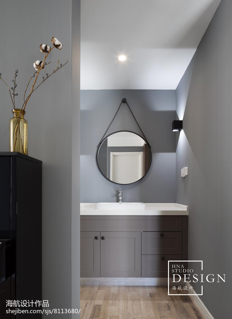 精选110平米四居卫生间现代装修欣赏图片大全