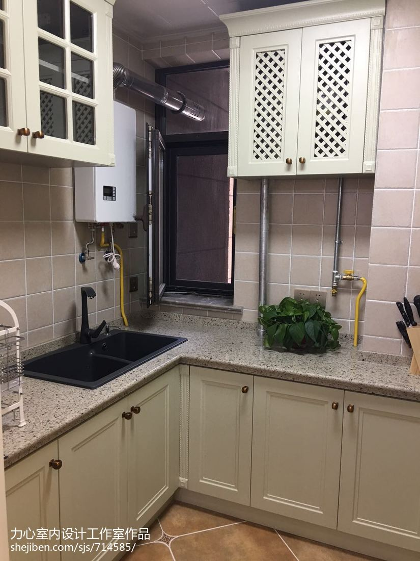 现代精致家装卫生间装修效果图