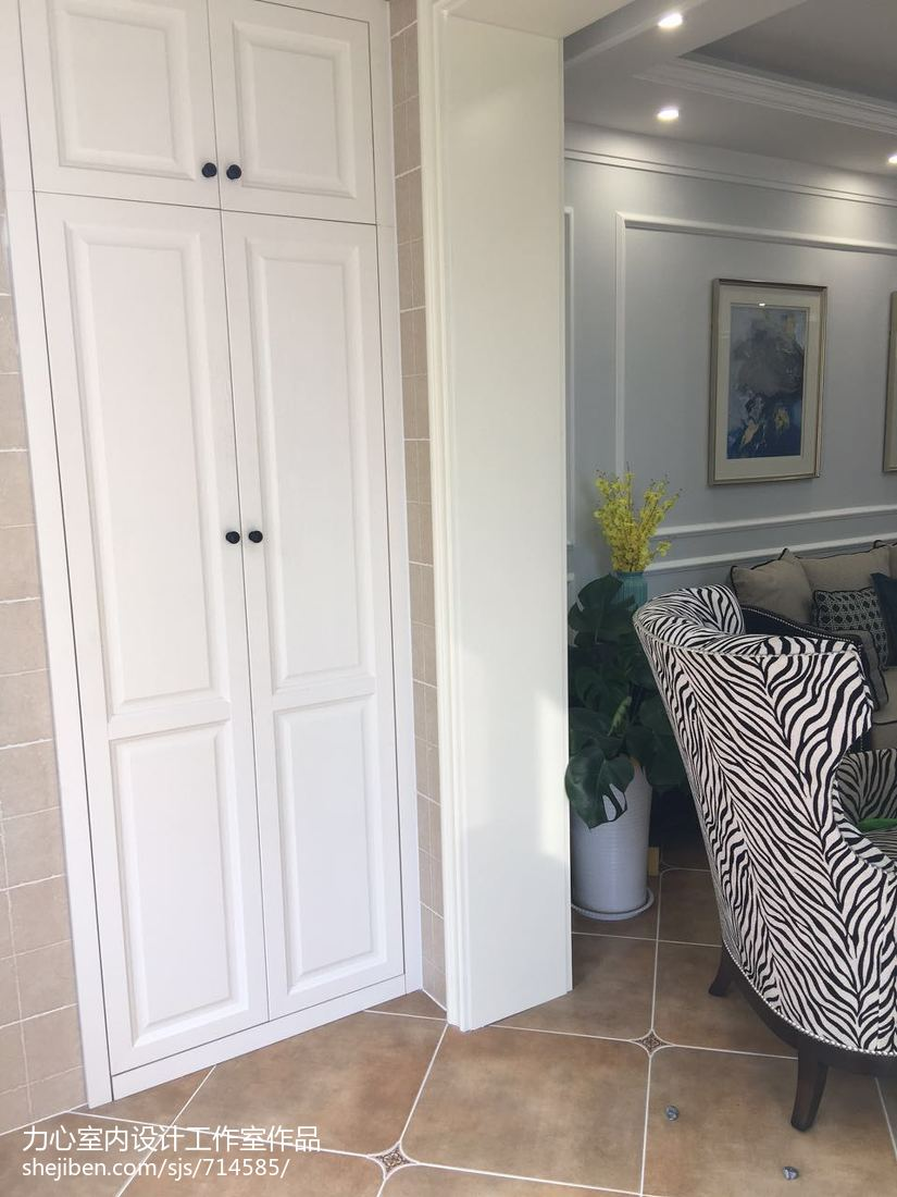 现代精致家装卧室装修效果图
