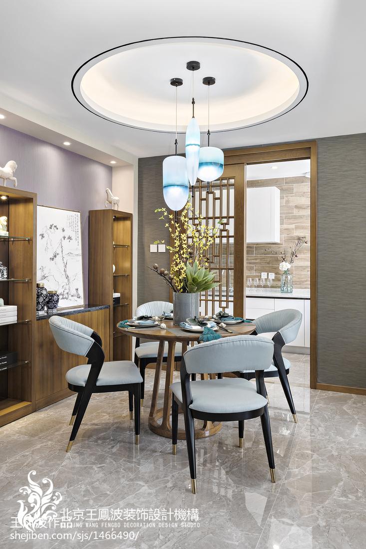 中式别墅餐厅设计图片
