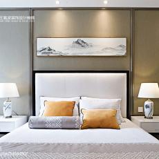111平米中式别墅卧室装修欣赏图片大全