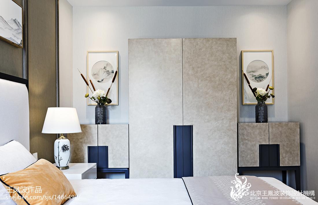 中式别墅卧室衣柜设计图