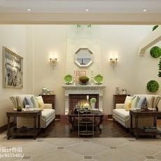 热门134平米美式别墅休闲区装修效果图