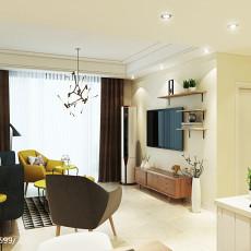 现代简约三室两厅装修风格