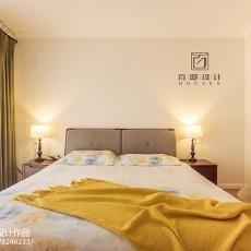 201895平米三居卧室美式装修设计效果图