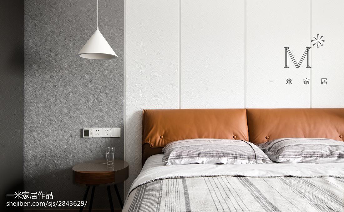 热门面积141平复式卧室北欧装修效果图片