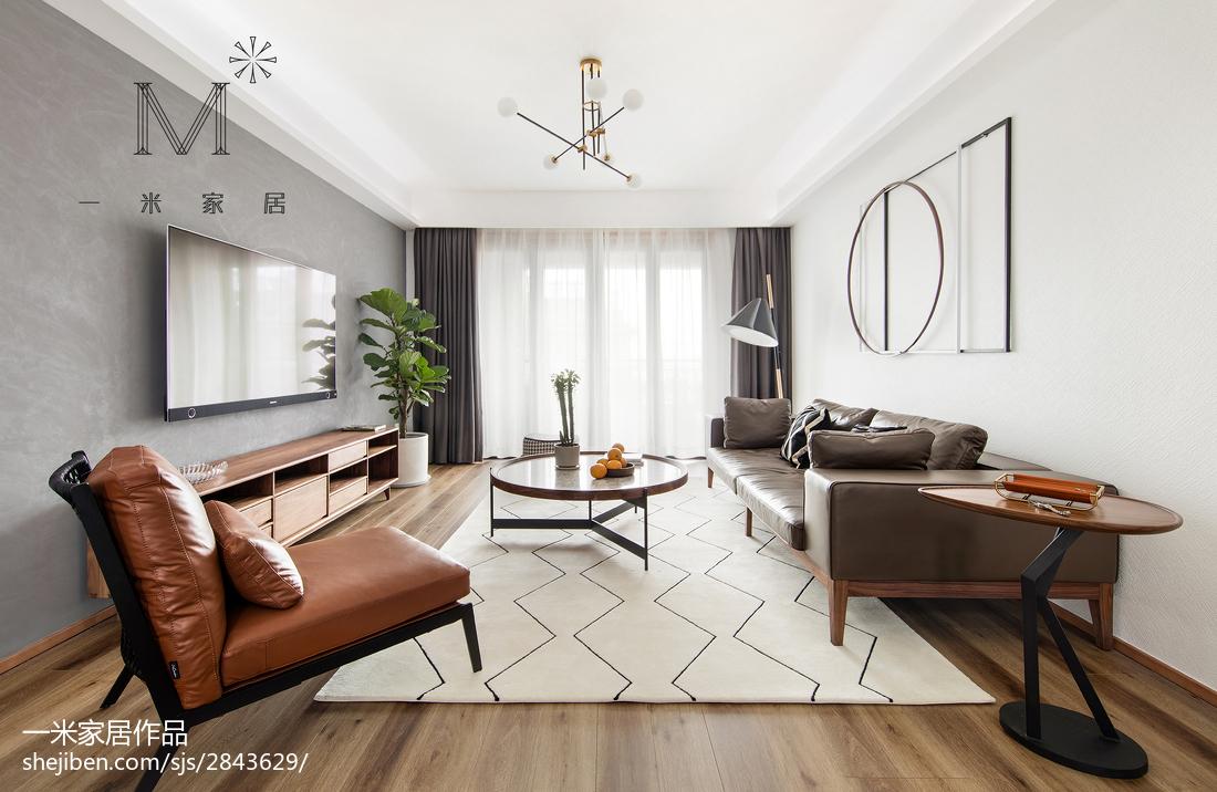 2018精选北欧复式客厅装修图