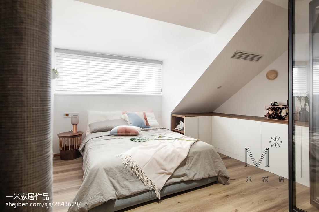 明亮70平北欧复式卧室设计案例
