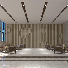 古典装修风格室内楼梯装修效果图