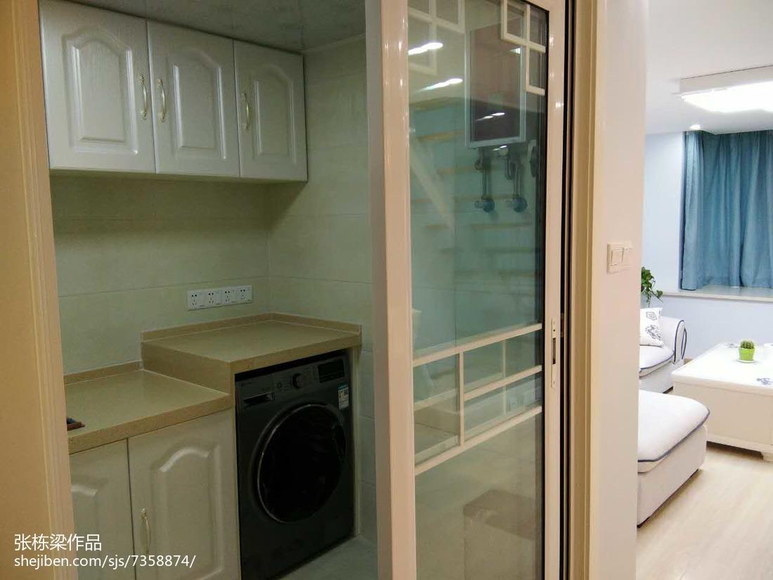 面积73平小户型厨房简约装修效果图片大全