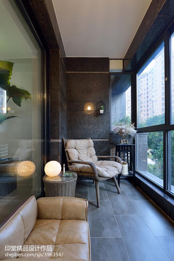 厨窗背景_阳台花园设计效果图大全-土巴兔装修效果图