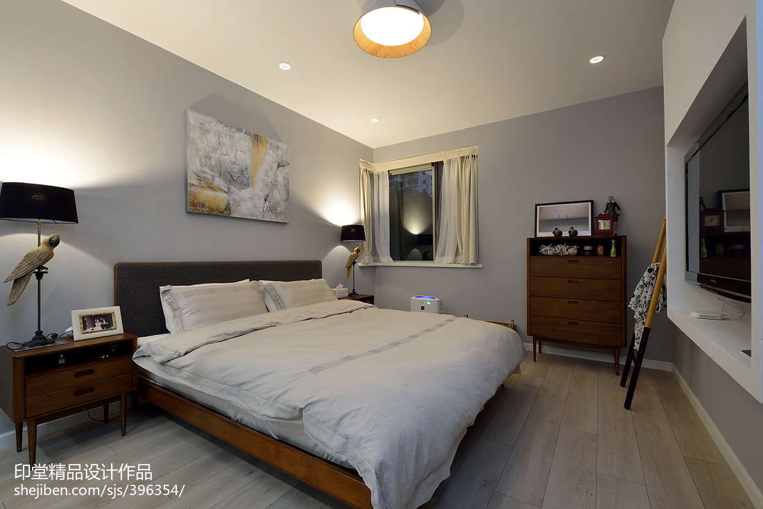 简约风格现代装潢设计卧室