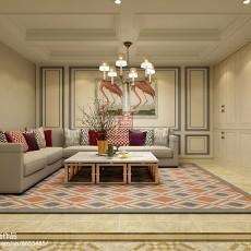 精选126平米欧式别墅休闲区装修设计效果图片欣赏