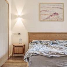 日式简约风格卧室设计效果图欣赏大全