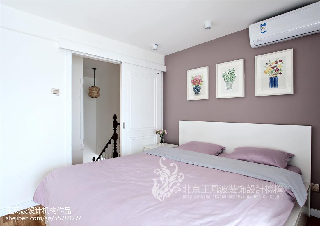 2018二居卧室日式装修实景图片大全