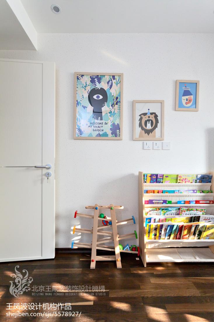 精选面积98平现代三居儿童房效果图片大全