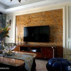 热门面积108平美式三居客厅装修效果图片欣赏