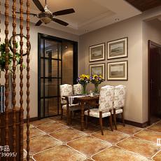 时尚欧式风格三室两厅装修效果图欣赏