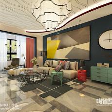 现代简约小户型客厅装修效果图欣赏