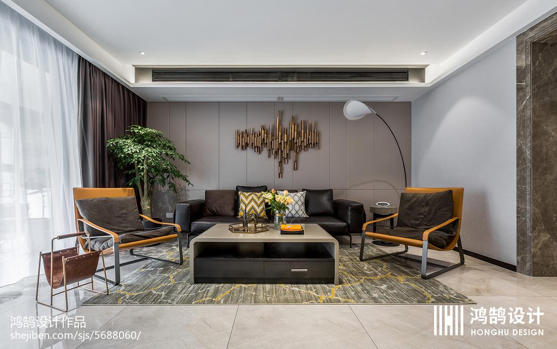 232㎡现代客厅设计图片