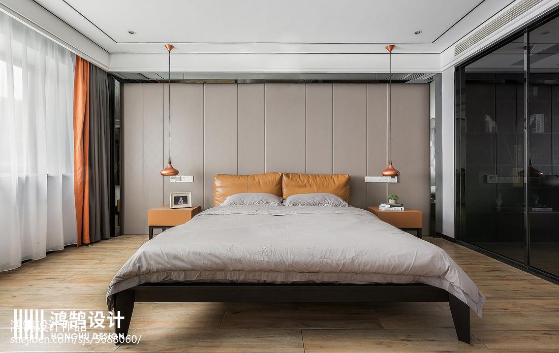 温馨91平现代四居设计案例