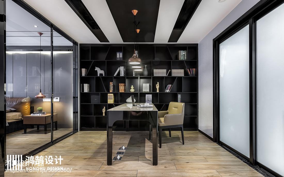 明亮144平现代四居装修设计图