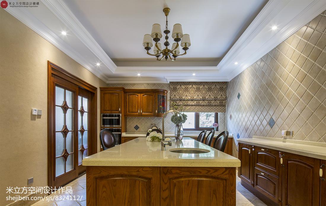 古典精致欧式厨房装修案例