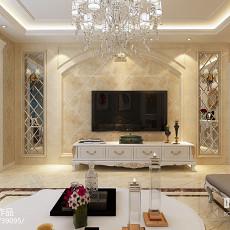 现代时尚客厅装修效果图大全