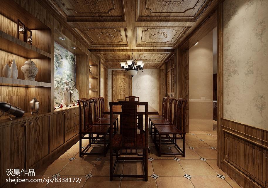 时尚餐厅古典家具图片