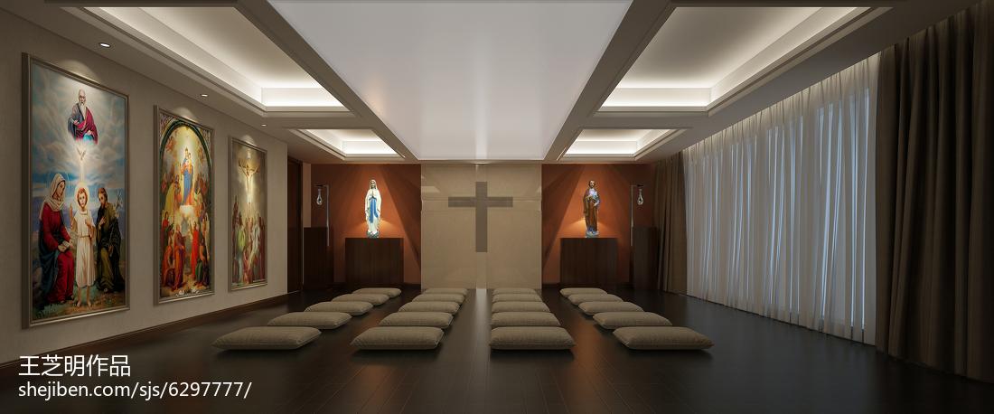 现代简约风格复式楼室内装修