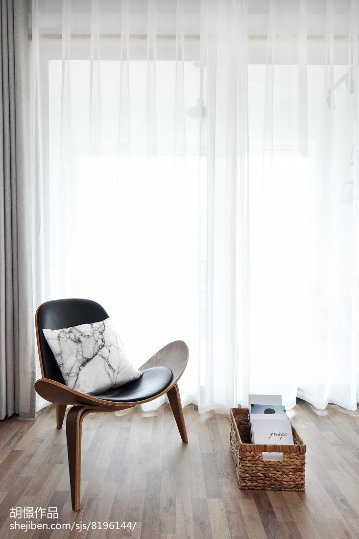 热门82平米北欧小户型客厅装修设计效果图片欣赏