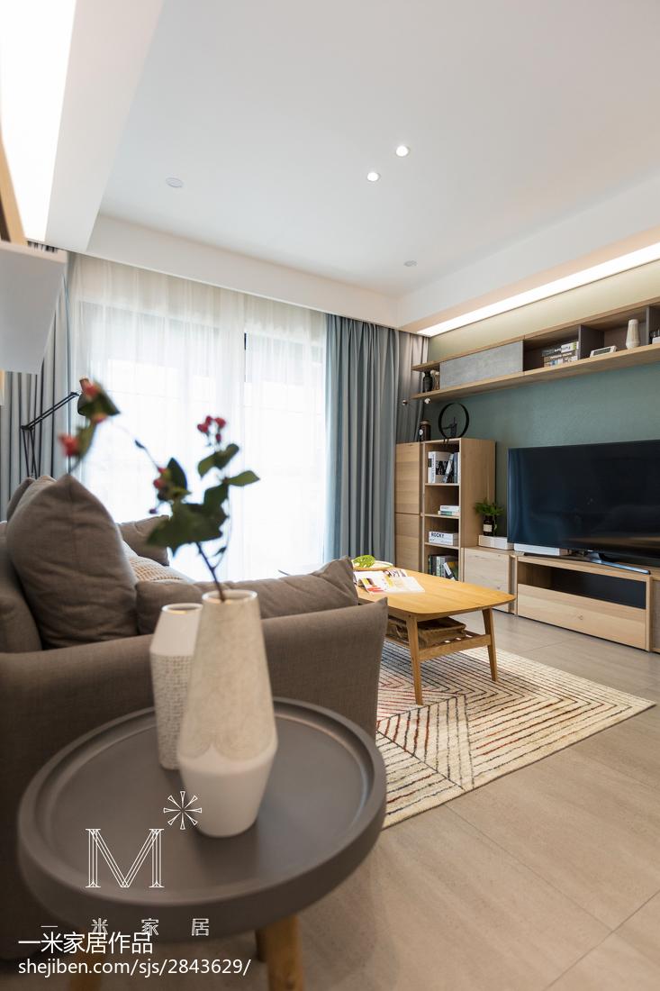 201894平米三居客厅北欧装修效果图片
