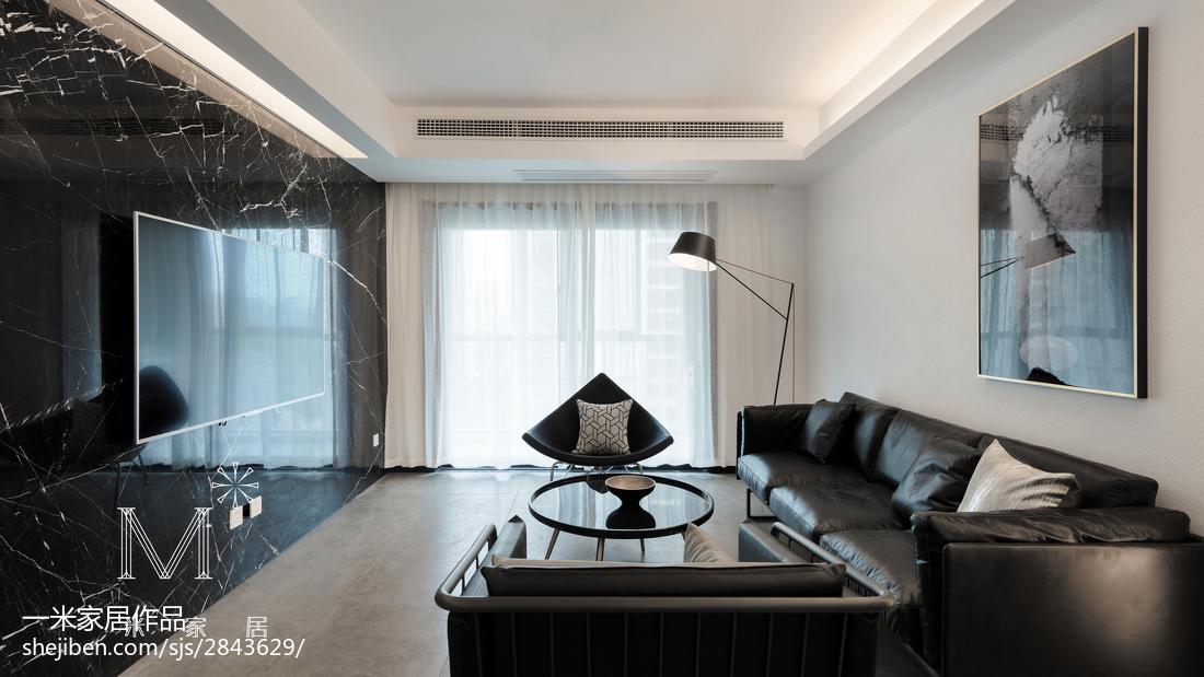 201895平方三居客厅简约装修图片