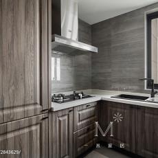 105m²新中式厨房设计图