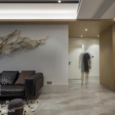 精选90平米三居客厅现代效果图