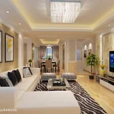 现代客厅墙纸