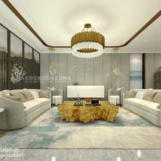 精美116平米混搭复式客厅装修实景图片大全