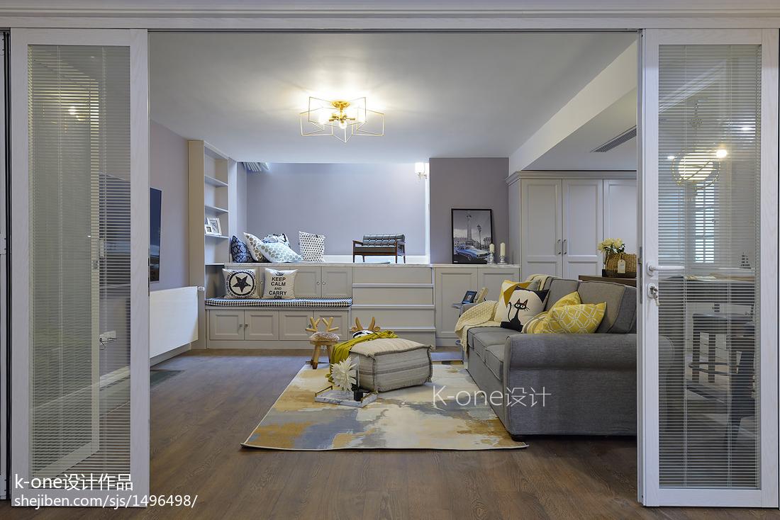 简单美式别墅地下室设计图