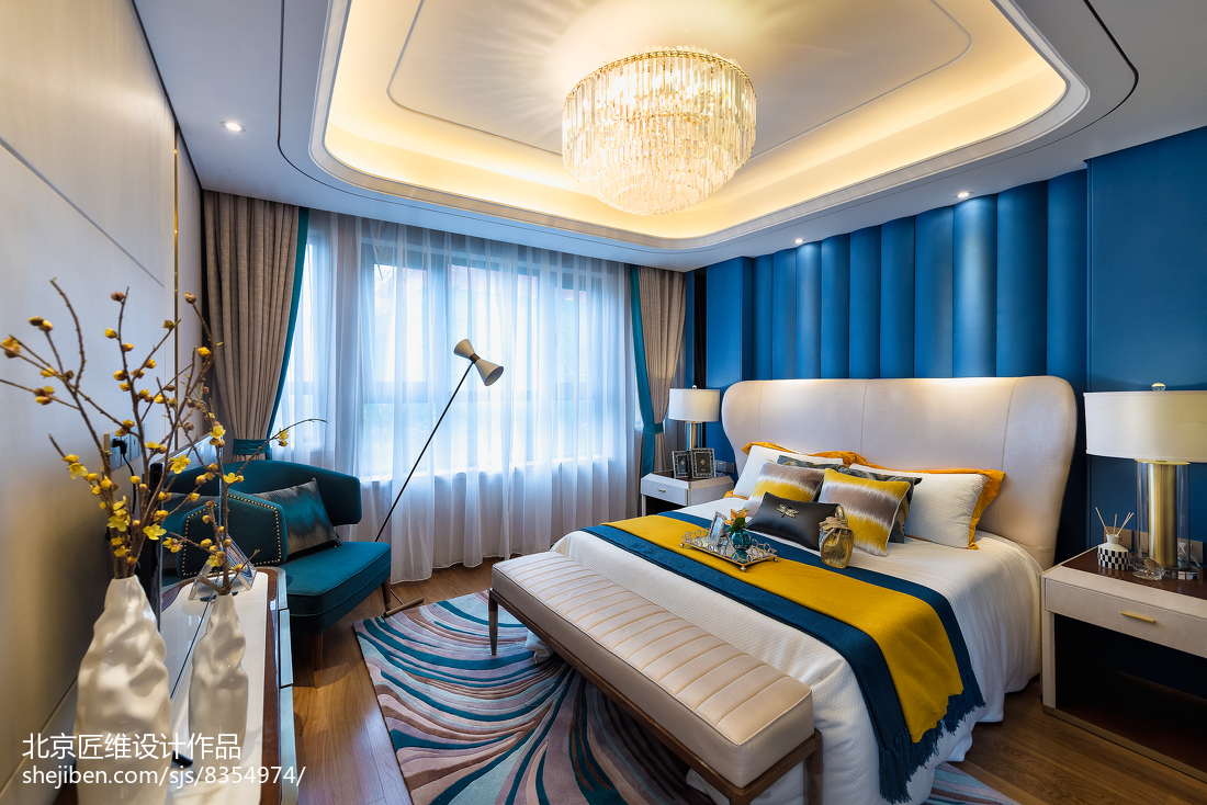 精美卧室现代装饰图片欣赏
